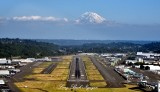 Good to be Home Boeing Field and Mount Rainier KBFI Seattle 023