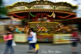 Fairground Carousel Southbank Center London 082