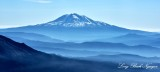 Hazy Mt Adams Cascade Mountains 109