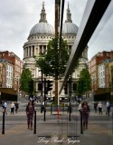 Seeing Double St Pauls Cathedral London 113