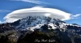 Stunning Cap Cloud over Mt Rainier National Park Washington 190
