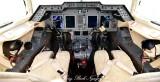 Hawker 900XP cockpit 154