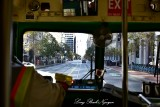 Trolley view of Market Street San Francisco 302