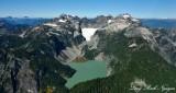 Blanca Lake Columbia Glacier Columbia Peak Kyes Peak Monte Cristo Peak 355