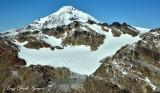 White Chuck Glacier and Lake Glacier Peak Washington 484