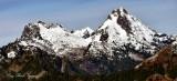 Gothic Peak Foggy Pass Del Campo Peak Cascade Mountains Washington 335