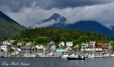 Sitka Harbor and Marina with The Sisters Alaska 110