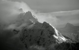 Whitehorse Mountain in Cloud Cascade Mountains Washington 034