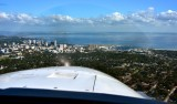 On Final into Albert Whitted airport St Petersberg Florida 063