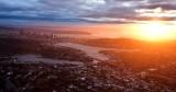Sunset over Lake Union and Seattle Washington 451