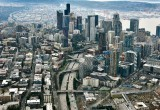 Seattle Central Business District Capital Hill Interstate 5 217