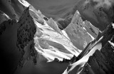 Peak on Mount Anderson Olympic Mountains Washington 408