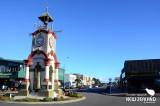 Clock tower at Hokitika