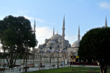 The Sultan Ahmed Mosque ( the Blue Mosque)