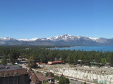 View from the room in South Lake Tahoe