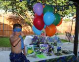 Charlie's TMNT Birthday Party