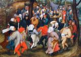 The Wedding Dance by Pieter Bruegel the Younger