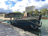 Saturday we meet the Fleur at Bassin de la Villette in Paris