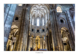 Nave central y Capilla Mayor de la concatedral de Santo Domingo de la Calzada