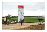 Panel informativo que nos da la bienvenida a la Comunidad Autónoma de Castilla y León
