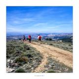 Caminat pel GR7 direcció a Morella