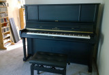 The Kawai K6 just before it left for R. Kassman pianos (cellphone pics)
