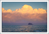 Bass Rock and Clouds