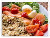 Salmon and Couscous Salad