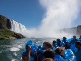 Niagara Falls with the Spanish  Exchange Students