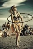 Siesta Key Beach Drum Circle and Hoop Dancers