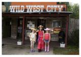 Mya, Skyler and Grace visit Wild West City