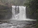 Silver Falls State Park, Trail of Ten Falls, Oregon, U.S.A. 2015 02 (Feb) 11