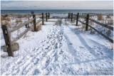 Snow on the Beach #2