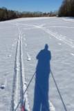 Cross Country Skiing Selfie