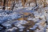 Creeks in Winter:  Warm View