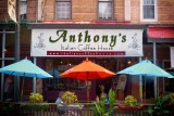 Anthony's Coffee House on Ninth Street.