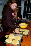 Making the Pizzelles