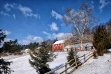The Rock Raymond Road Red Barn