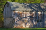 A Favorite Barn With Shadows