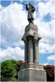 Civil War Monument at Mahanoy City (PA) Cemeteries