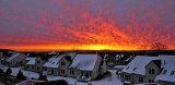 Sunrise Over Our 'Tyrollean Village' in Downingtown