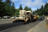 Front view of Feeder and Paver