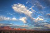 Sunset - Mojave Desert