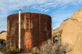 Abandoned Water Tank at Ryan Ranch Ruins