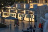 Last light and Tram