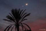 Moon, Venus, Mars Conjunction