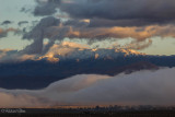 Sunrise on the Santa Rosa Mountains