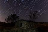 Rawson Ruins Star Trails