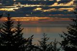 A calm Pacific Ocean