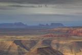 Monument Valley over John's Canyon, Utah